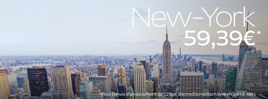 promotion envoi new york
