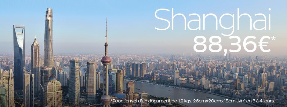 Promotion envoi shanghai