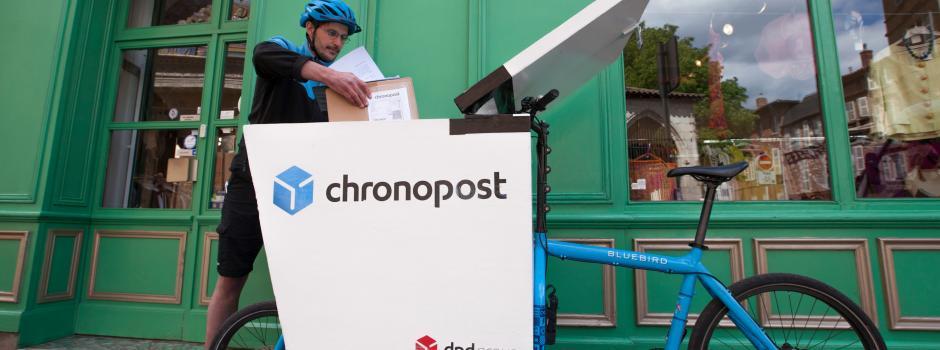 On deman, la nouvelle offre Chronopost de livraison sur 30 min