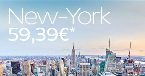 Promo vers NewYork